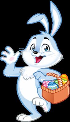 TrackEasterBunny.com Easter Bunny Mascot