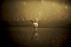 Plastic Bunny