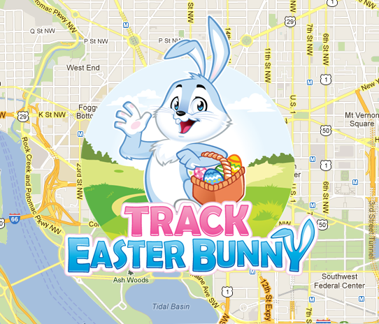 Easter Bunny Tracker 2017